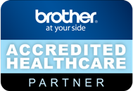Brother Accredited Healthcare Partner to NHS